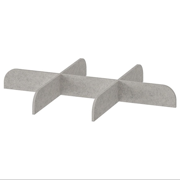 IKEA Divider for pull-out tray, light gray